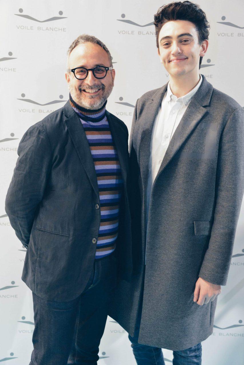 Voile Blanche presenta la collezione SS17 con Michele Bravi