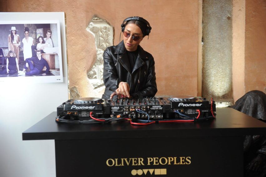 OLIVER PEOPLES STORE OPENING ROMA