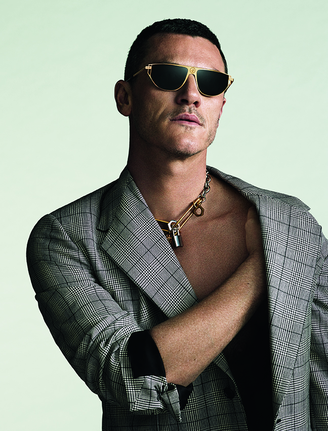 VERSACE – Luke Evans capsule collection