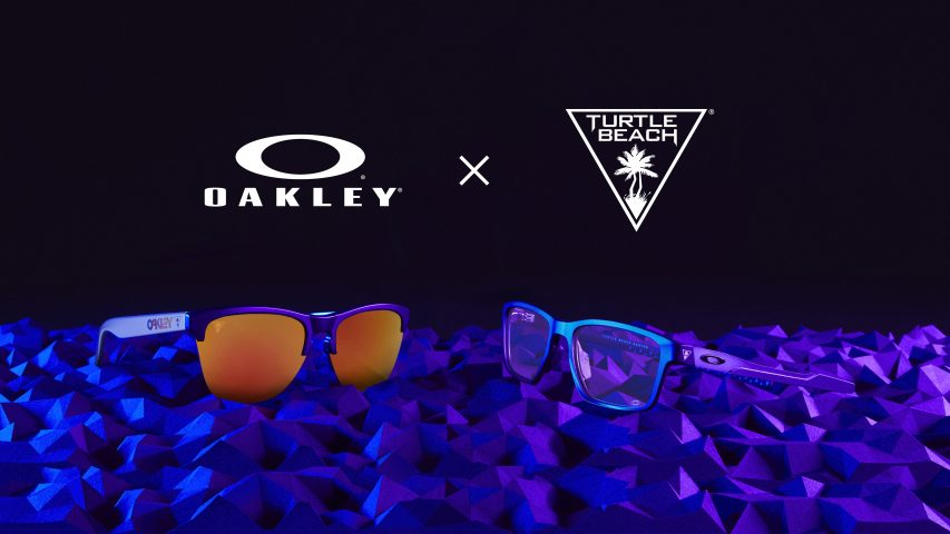 SEE BETTER. HEAR BETTER. PLAY BETTER. OAKLEY TEAMS UP WITH TURTLE BEACH TO GIVE GAMERS THE ULTIMATE PERFORMANCE ADVANTAGE