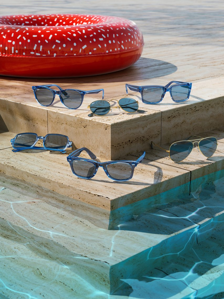 RAY-BAN TRUE BLUE LIMITED EDITION COLLECTION